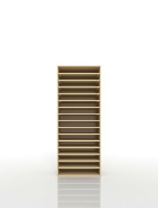 楽譜棚 楽譜 ピアノ A3 16段 木製(書類収納棚 書類整理棚 書類ラック 書類ケース 書類トレー 書類入れ マップケース 図面棚 オフィス家具 大容量 送料無料)/PNO-A3-16 /マルゲリータ