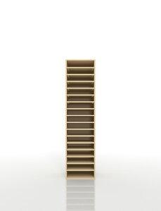 書類棚 A4 17段 木製(書類収納棚 書類整理棚 書類ラック 書類ケース 書類トレー 書類入れ 書類チェスト 書類ボックス オフィス家具 大容量 送料無料)/PNO-A4-17 /マルゲリータ