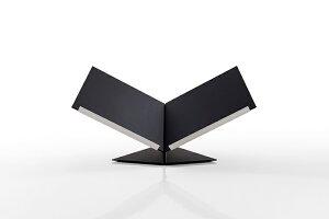 本を開いて見せるブックスタンド 100°タイプ(本展示 本のディスプレイ 見開き 本立て 本たて 机上 卓上)BS-11/マルゲリータ