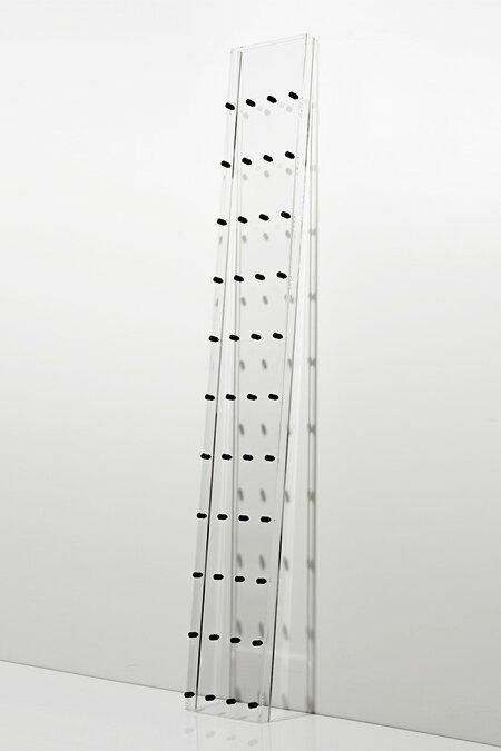 CDラック大容量おしゃれCDディスプレイラック・透明アクリル製(CD展示ラック・CDラック・CDジャケット・ディスプレーラック・飾る・壁に立てかける・おしゃれ・デザイン・インテリア・見せる収納・送料無料)/CD-06-A/Projectionシリーズ/マルゲリータ