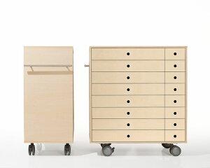 キャスター付き収納 A3書類 引き出し 16杯 木製(書類棚 書類収納棚 書類整理棚 書類ラック 書類ケース 書類チェスト 書類ケース 書類入れ 引出し収納 ワゴン 可動棚 大容量)SC-T16-A3 /マルゲ