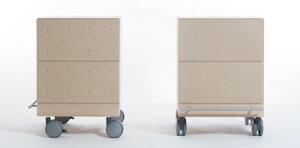 文庫本収納箱・2段セット/小・深めタイプ(キャスター付き収納ボックス・キャスター・可動式・移動式・収納ケース・収納ラック・木製・コミック・大容量・送料無料)(BLC-04×2・BLC-16-HI×