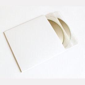 CDジャケット 厚紙製 白 背付き 100枚セット(CD用ジャケット CDカバー CDケース CD収納 紙ジャケット 保護袋 保護カバー CD整理 CD保存 CD保管 CD用品) /マルゲリータ