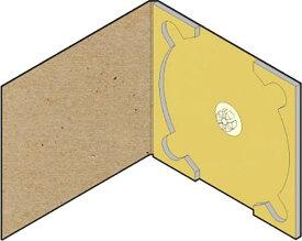 CD用 紙ケース ポケット無し(クラフト)+OPP袋 50組セット/CD-033 /マルゲリータ