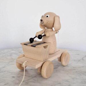 Sarah&Bendlix 木のおもちゃ プルトーイ 鉄琴 木琴 音楽 音が鳴る イギリス チェコ ハンドメイド ベビー ファーストトイ 希少 人気 赤ちゃん グッズ 引っ張る おもちゃ 出産祝い ギフト ベビー用