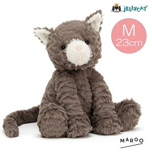 jellycat ジェリーキャット ねこ CAT ネコ 猫 ブラウン 茶色 正規輸入品 FUDDLEWUDDLES ファドルウードル ぬいぐるみ 柔らかい 安心 安全 赤ちゃん ベビー 出産祝い ギフト 誕生日 贈り物 プレゼント