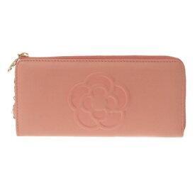 クレイサス 財布 CLATHAS バッグ クレイサス 正規品 新品 クレイサス 財布 ソフトスムースレザーラウンド長財布 ピンク