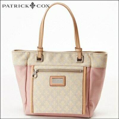 【あす楽】パトリック コックス 財布 パトリックコックス バッグ PATRICK COX パトリックコックス 正規品 ペールトーンキャンバスハンドバッグ ピンク
