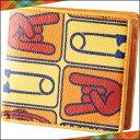 ヴィヴィアンウエストウッド ヴィヴィアンウエストウッド正規品 Vivienne Westwood ヴィヴィアン ウエストウッド TAGS 二つ折り財布 イエロー×オレンジ