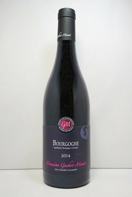 ドメーヌ ガショ・モノブルゴーニュ・ルージュ [2016]Domaine Gachot-Monot Bourgogne Rouge