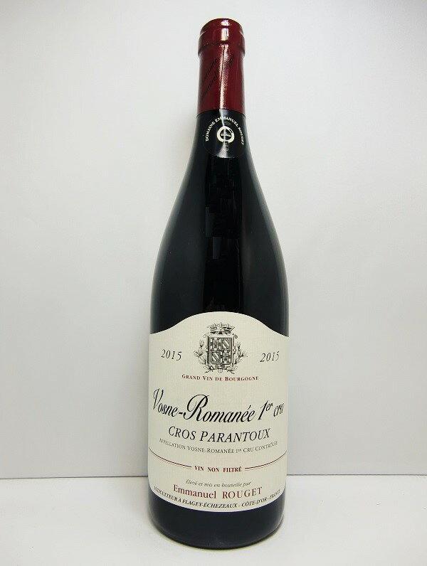エマニュエル・ルジェヴォーヌ・ロマネ 1er クロ・パラントゥ [2015]Emmanuel Rouget Vosne Romanee 1er Cros Parantoux