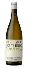 リッジ シャルドネ・モンテベロ [2013]Ridge Chardonnay Monte Bello