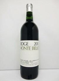 リッジ モンテ・ベロ [2011]Ridge Monte Bello