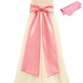 21cb62e1017ad  クーポンで20%OFF  ポイント3倍 リボンベルト ウェディング ピンク サテン(サッシュベルト ウェディングドレス ウエディングドレス アレンジ  結婚式 ブライダル ...