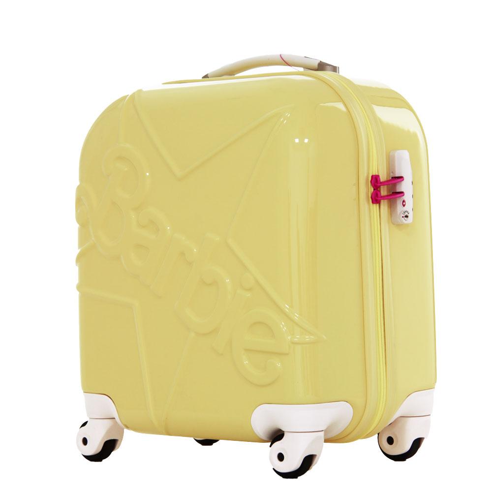 アウトレット 訳あり 激安 スーツケース キャリーケース キャリーバッグ キャリーバック キャリーケース バービー Barbie 旅行かばん 小型 XS サイズ 機内持ち込み 修学旅行 海外旅行 送料無料 『AE-05857』