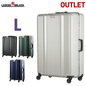 【SALE】 アウトレット スーツケース キャリーバッグ キャリーケース LEGEND WALKER レジェンドウォーカー 超軽量 7日 8日 9日 10日 大型 L サイズ 『B-6026-70』