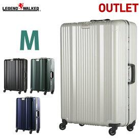 【SALE】 スーツケース キャリーバッグ キャリーケース LEGEND WALKER レジェンドウォーカー 超軽量 〜5日 6日 7日 中型 M サイズ 『6026-64』