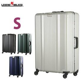 スーツケース キャリーバッグ キャリーケース メーカー1年修理保証 LEGEND WALKER レジェンドウォーカー 超軽量 〜4日 5日 小型 S サイズ 『6026-58』