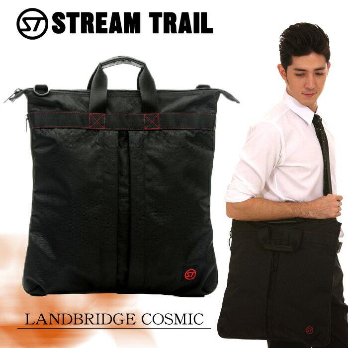 StreamTrail ストリームトレイル ショルダーバッグ ショルダーバック ビジネスバッグ トートバッグ BAG ST-LANDBRIDGE-COSMIC アウトドア 修学旅行 海外旅行 送料無料 『ST-LANDBRIDGE-COSMIC』
