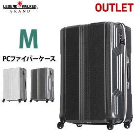【期間値下げ】 【アウトレット】 LEGEND WALKER B-5603-59 PCファイバー 優れた復元力 スーツケース BLADE 59cm 超軽量 Mサイズ キャリーケース キャリーバッグ レジェンドウォーカー