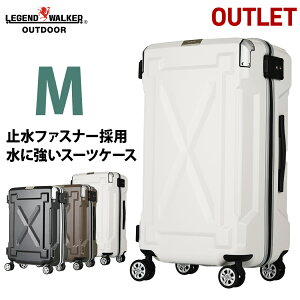 アウトレット スーツケース キャリーケース キャリーバッグ M サイズ 超軽量 PC100%素材 フレーム キャリーバック 旅行用かばん 中型 5日 6日 7日 無料受託手荷物  158cm 以内 アウトドア『B-6304-
