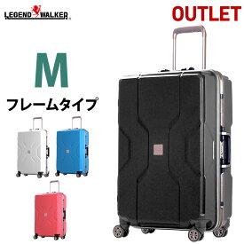 【期間限定価格】 アウトレットスーツケース キャリーケース 中型 M サイズ キャリーバッグ キャリーバック 軽量 TSAロック フレーム 対応 ポリプロピレン モダニズム B-M3002-F60