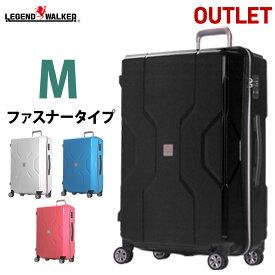 【期間限定価格】 アウトレットキャリーケース スーツケース 中型 M サイズ キャリーバッグ キャリーバック 軽量 TSAロック ファスナー 対応 ポリプロピレン モダニズム B-M3002-Z60