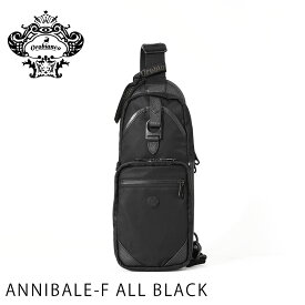 ボディ バッグ 鞄 かばん オロビアンコ OROBIANCO ビジネス ANNIBALE-F ALL BLACK orobianco-92134 MADE IN ITALY