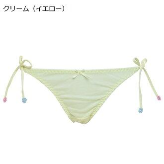 紐パンTバックショーツ綿100%レディース日本製全6色Mサイズ紐ショーツ単品タンガコットン100%MARIICLUB/マリイクラブ