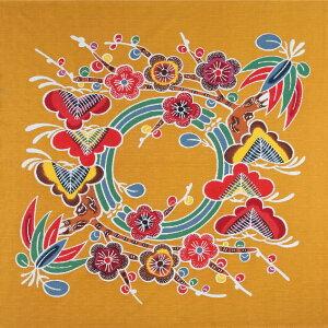 【風呂敷】京都marimari シャンタン友禅紅型 二四巾(90×90cm)(日本製)