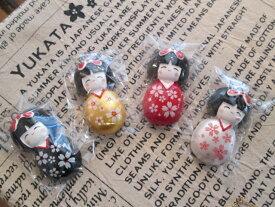 マグネット 和小物 夢こけし 桜柄 和み 和小物 和雑貨 和風 和柄 かわいい 【日本製】プレゼントにいかがでしょうか!!ゆうパケット可能!!リュウコドウ
