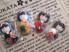 マグネット 和小物 夢こけし 和柄 和み 和小物 和雑貨 和風 和柄 かわいい 【日本製】プレゼントにいかがでしょうか!!ゆうパケット可能!!リュウコドウ