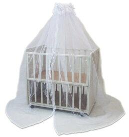 カトージベビーベッド用カーテン蚊帳兼用
