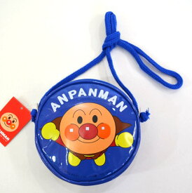 アンパンマン丸ポシェット【ブルー】ANA-1200伊藤産業