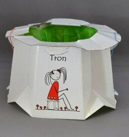 ティーレックス座れる携帯トイレトロン Tron
