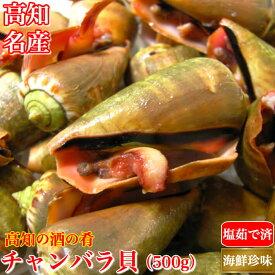 チャンバラ貝 (マガキ貝)500g 高級海鮮珍味 高知特産 酒の肴 ちゃんばら貝 塩茹で済み 父の日 お中元 冷凍便 ギフト グルメ 珍味 海産物