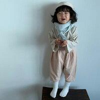 韓国子供服ナチュラル8分丈パンツ長ズボンナチュラル韓国子供服男の子韓国こども服ボトムスキッズ80cm90cm100cm110cm120cm4色