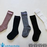 フォーマル女の子リボン付リブハイソックスキッズ靴下韓国子供服卒園卒業入園入学リブソックス12cm14cm16cm18cm20cm22cm