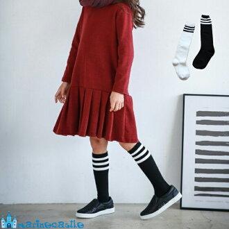 키즈 양말 한국 아동복가을 양말 키즈 3개 라인 하이 속스 포멀 사내 아이 여자 아이 퇴원 졸업 입원 입학 100 cm/90 cm포멀가을