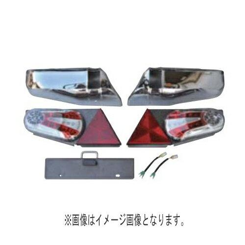 TIGHT JAPAN(タイトジャパン)レイズ テールランプキット(プラチナブラック&ミラー)