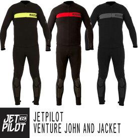 JETPILOT/ジェットパイロット2019モデルVENTURE JOHN AND JACKETベンチャー スーツジャケット&ロングジョン 2点セット