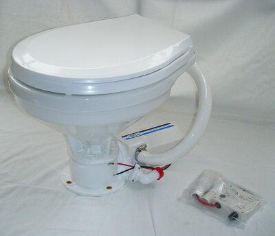 TMC電動マリントイレ12Vラージボールタイプ・ワイド家庭用サイズ