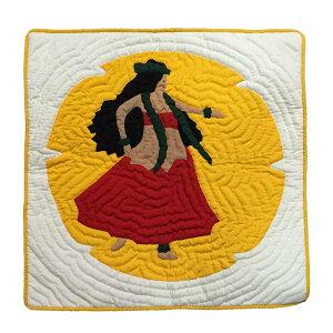 【お盆期間も休まず毎日発送】 ハワイアンキルト クッションカバー 46×46 フラガール ハワイアン雑貨 インテリア