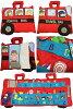 Hawaiian quilt Hawaiian quilt toybook animal bus / kids ' stuffed animals