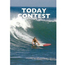 【土日祝も毎日発送】 TODAY IS CONTEST トディ・イズ・コンテスト ロングボード サーフィンDVD