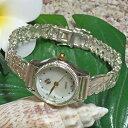 ハワイアンジュエリー シルバーブレスウォッチ バード・オブ・パラダイス フック 16.5cm/極楽鳥花 アクセサリー Hawaiian jewelry ハ…
