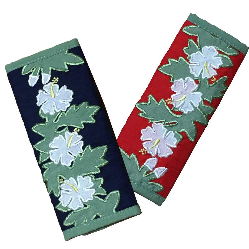 ハワイアンキルト Hawaiian Quilt シートベルトカバー/カーアクセサリー【ゆうパケット対応】【小型宅配便】【コンビニ受取対応商品】【RCP】