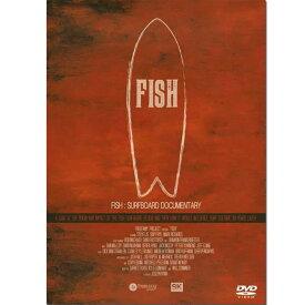 【平日13時までのご注文は当日発送】 FISH フィッシュ サーフボードの謎を解く サーフィンDVD