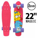 Penny Skateboards ペニー LIMITED EDITION SIMPSONS MAGGIE 22インチ PNYCOMP22380/ミニクルーザー【RCP】