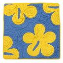 ハワイアンキルト クッションカバー 46×46 ハイビスカス ハワイアン雑貨 インテリア